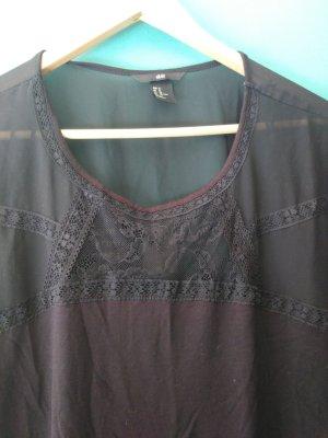 H&M Bluse mit Spitze