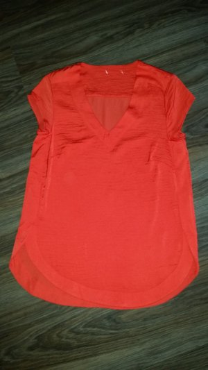 H&M Bluse rot Gr. 36
