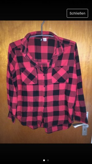 H&M Bluse rotkarriert