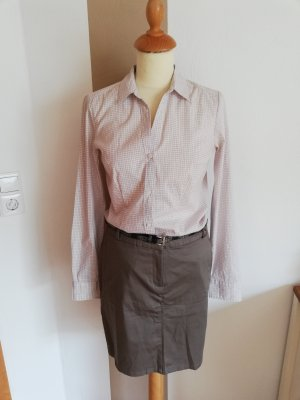 H&M Checked Blouse pink