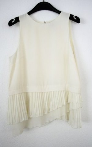 H&M Bluse schick weiß elfenbeinfarben