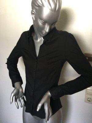 H&M Bluse schwarz Gr. 36