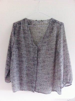 H&M Bluse schwarz-weiß Gr.36