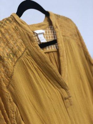 H&M Bluse Senfgelb Gr.34