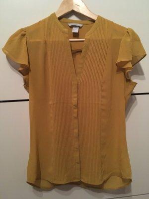 H&M Bluse senfgelb Gr. 36