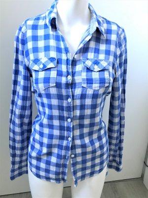 H&M Bluse Shirt Holzfäller Karo 34/XS