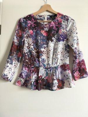 H&M Bluse Top Blumenprint Floral