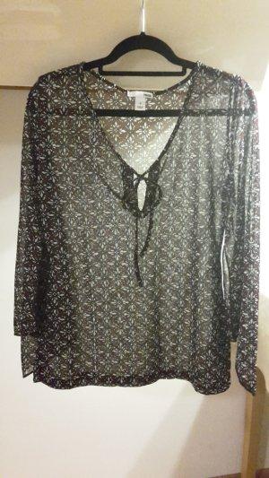 H&M Bluse transparent Gr. 36