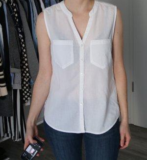 H&M Bluse, weiß, Gr. S