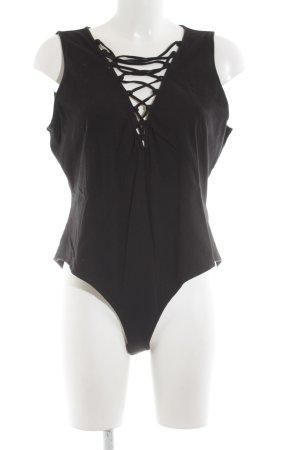 H&M Bodyblouse zwart elegant