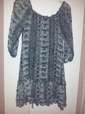 H&M Blusen Kleidchen Schlangenprint