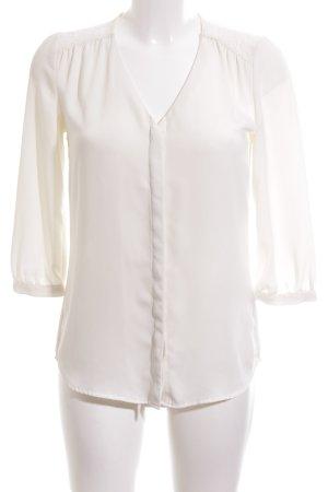 H&M Veste chemisier blanc élégant