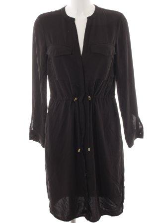 H&M Blusenjacke schwarz klassischer Stil