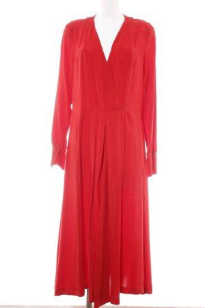 H&M Abito blusa rosso stile casual