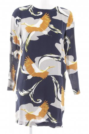 H&M Blousejurk abstract patroon zakelijke stijl