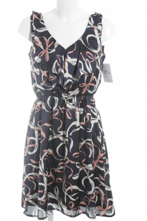 H&M Vestido camisero estampado con diseño abstracto look casual