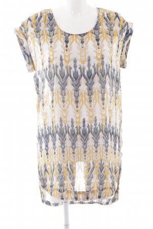 H&M Blouse Dress abstract pattern casual look