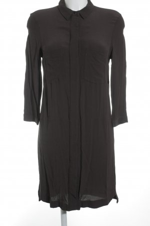 H&M Blusenkleid anthrazit Casual-Look