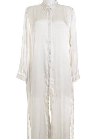 H&M Blusenkleid creme schlichter Stil