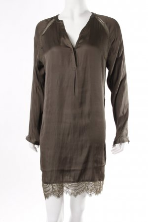 H&M Blusenkleid dunkelgrün