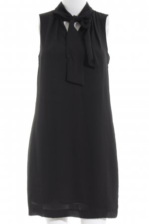 H&M Blusenkleid schwarz Business-Look