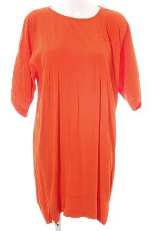 H&M Robe chemisier orange clair style décontracté
