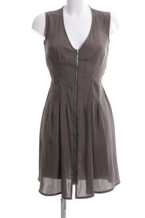 H&M Abito blusa grigio chiaro stile casual