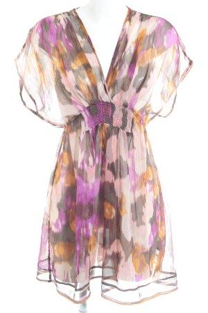 H&M Blusenkleid Farbverlauf Gypsy-Look