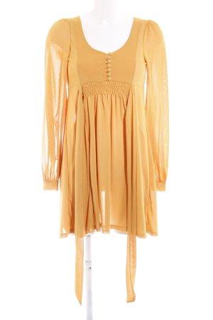 H&M Blusenkleid goldorange Casual-Look