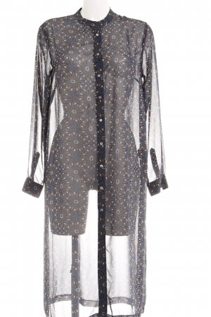 H&M Blusenkleid grafisches Muster Casual-Look