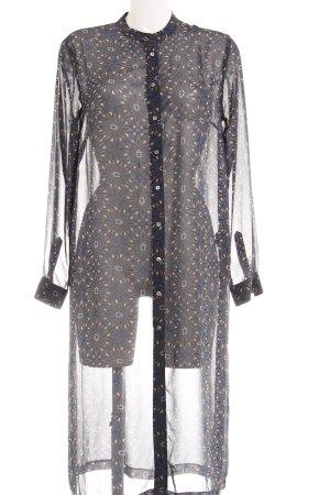 H&M Vestido camisero estampado gráfico look casual