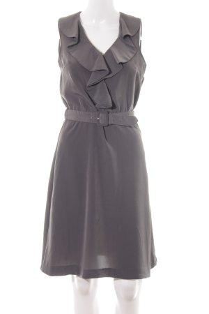 H&M Blusenkleid grau Casual-Look
