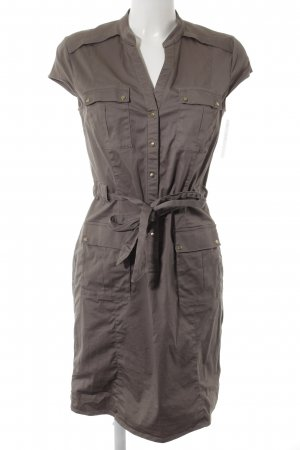 H&M Blusenkleid graubraun Casual-Look