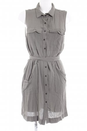 H&M Blusenkleid grüngrau-khaki Casual-Look