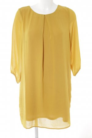 H&M Blouse Dress lime yellow simple style