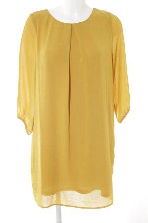 H&M Abito blusa giallo lime stile semplice