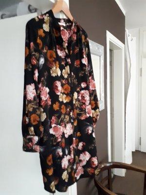 H&M Blusenkleid mit floralem Muster