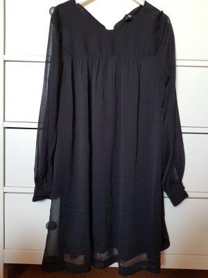 H&M Blusenkleid schwarz
