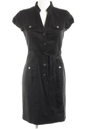 H&M Abito blusa nero stile casual