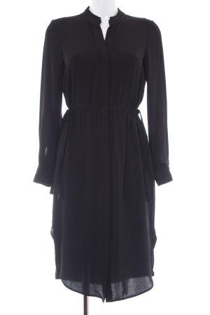 H&M Robe chemisier noir élégant