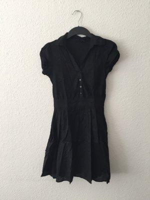 H&M Blusenkleid schwarz S