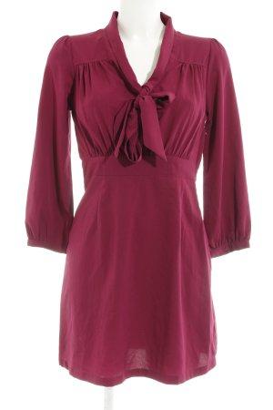 H&M Blusenkleid violett Elegant