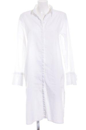 H&M Blusenkleid weiß minimalistischer Stil