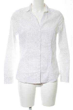 H&M Blouse Collar black spot pattern business style