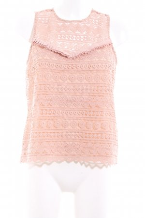 H&M Blusa rosa stampa integrale elegante