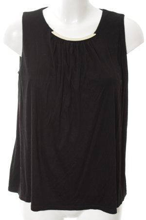 H&M Blusa nero stile professionale