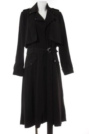 H&M Manteau long noir style décontracté