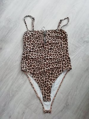 H&M Body Leo Animal Print Zip