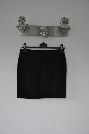 H&M Bodycon Rock, Jersey, schwarz Stretch, sexy, Highwaist