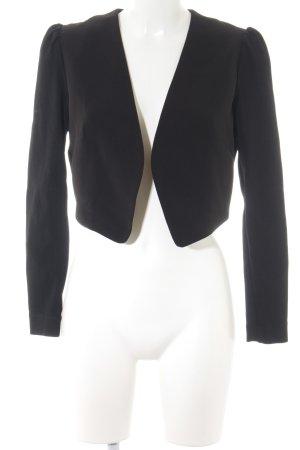 H&M Torera negro estilo «business»